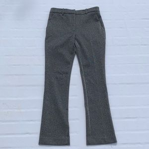 H&M Silver Glitter Ankle Length Pants